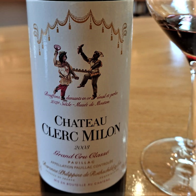 Château Clerc Milon from the Bordeaux: reds of history and passion